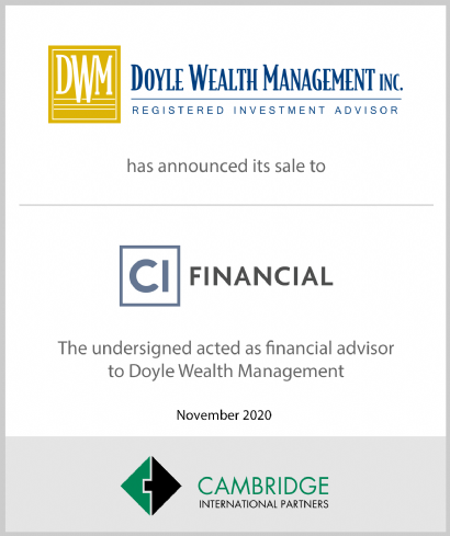 CI Financial - Doyle Wealth Management